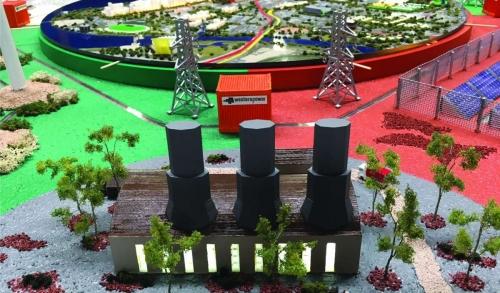 Interactive Custom Western Power Electrosphere 3D Model