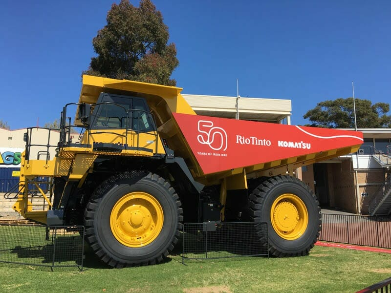 Rio Tinto Groundbreaker Exhibit – Perth Royal Show 2016